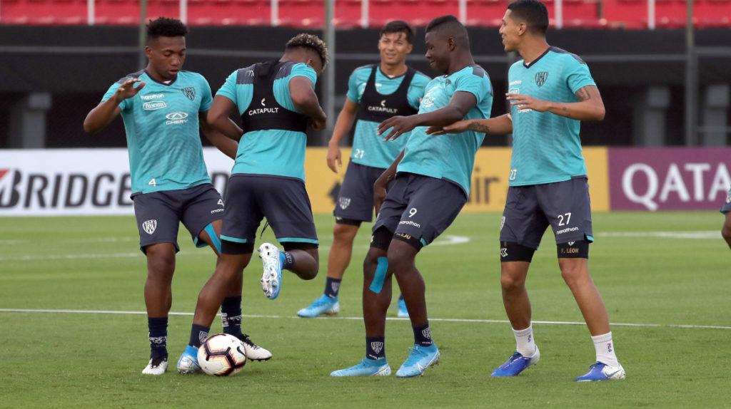 Independiente del Valle cumplió con su primer entrenamiento en Paraguay