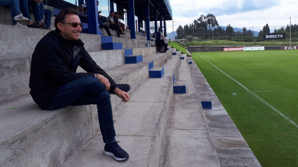 Michel Deller busca el primer título continental para Independiente