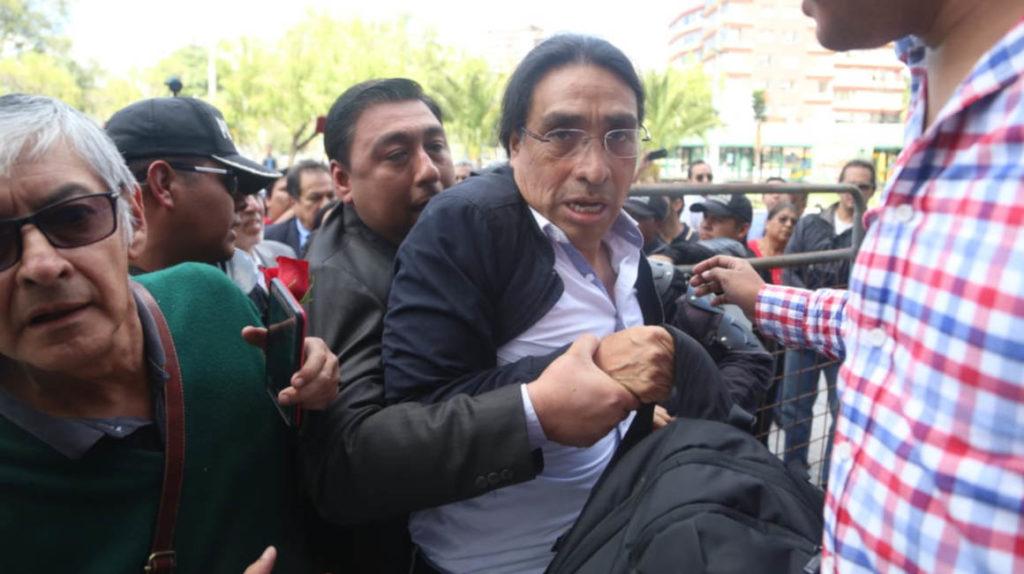 Virgilio Hernández fue detenido por un error en el sistema judicial