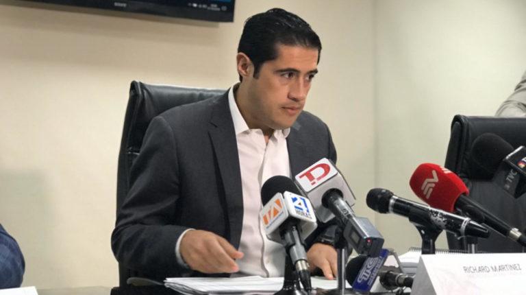 El ministro de Finanzas, Richard Martínez, presentó la noche del 31 de octubre, la proforma presupuestaria para el año 2020.