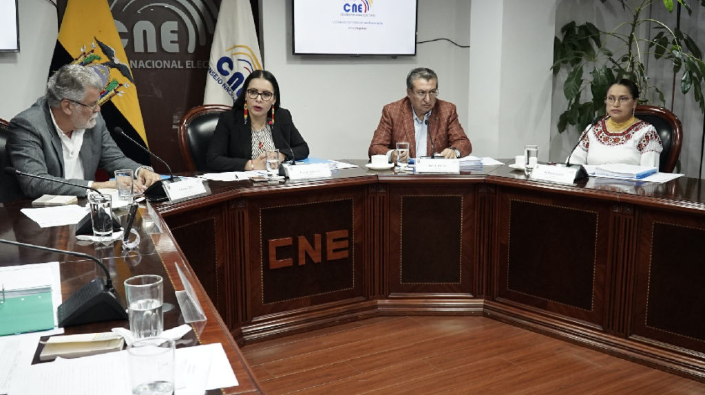 El CNE solo ha tramitado el pago del fondo partidario 2019 para el PSC