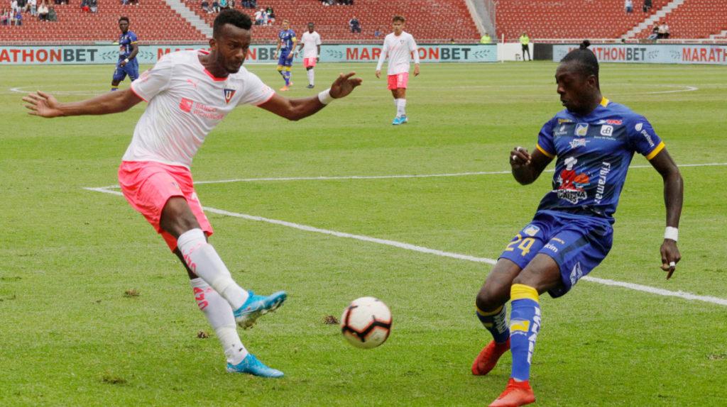 Esteban Paz: Orejuela y Chicaiza no seguirán en Liga de Quito