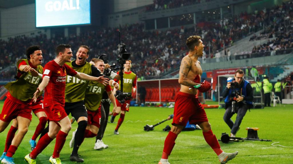 Liverpool es campeón del mundo de la mano de Firmino