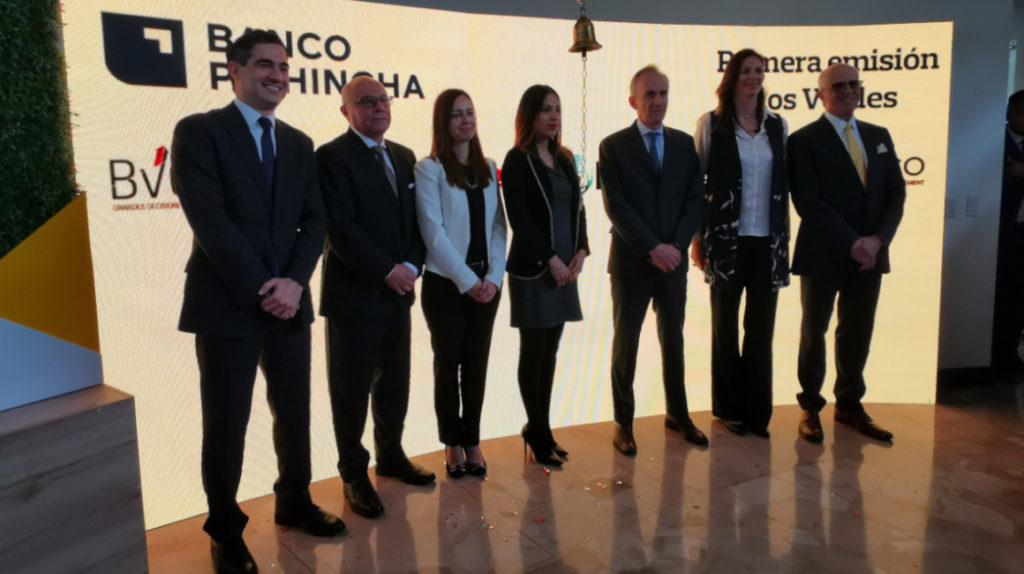 En minutos se negociaron los primeros bonos verdes emitidos en Ecuador