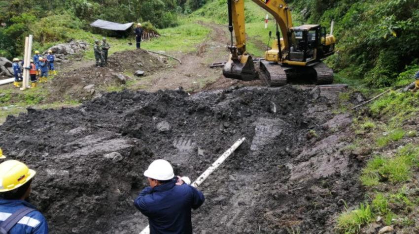 Operaciones de remediación en el Poliducto Shushufindi – Quito.