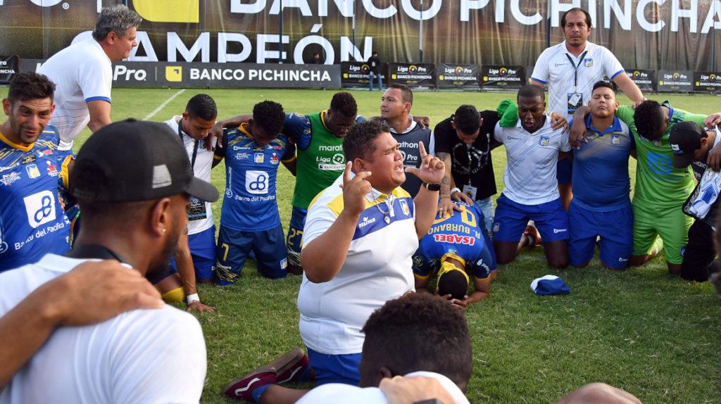 Delfín es el tercer campeón ecuatoriano fuera de Quito o Guayaquil
