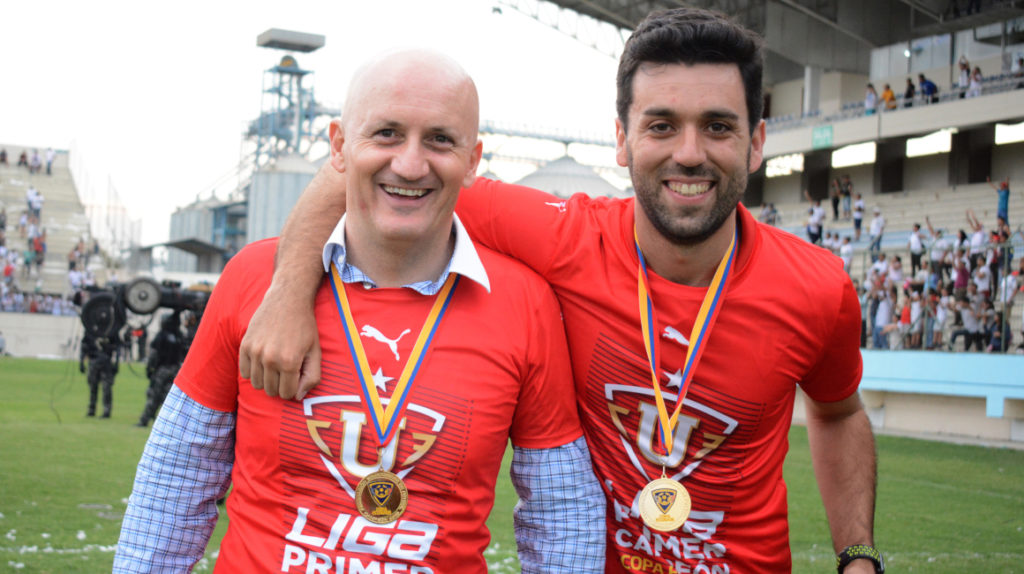 Pablo Repetto seguirá en Liga de Quito en 2020