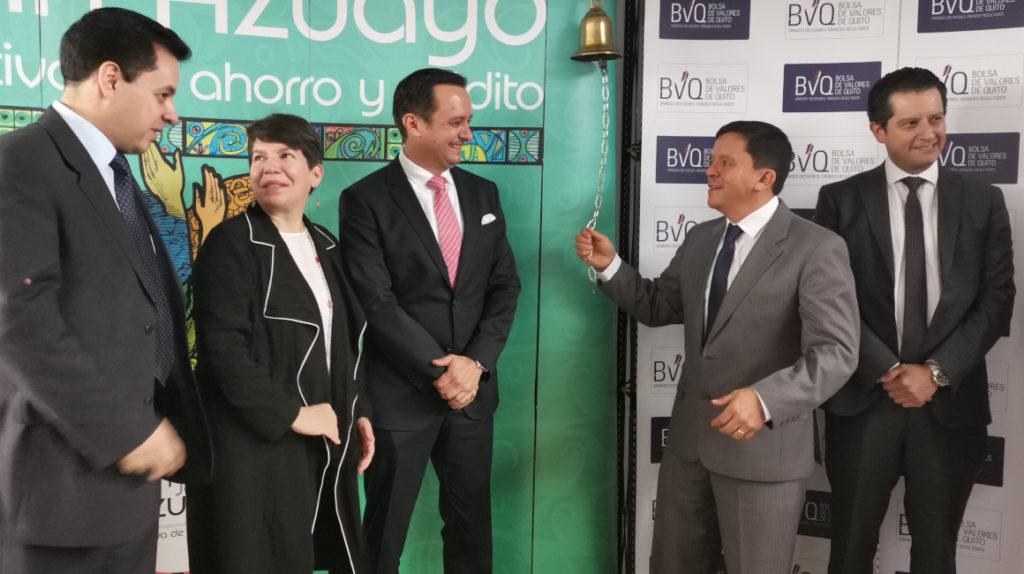 Jardín Azuayo lanza su primera titularización de cartera