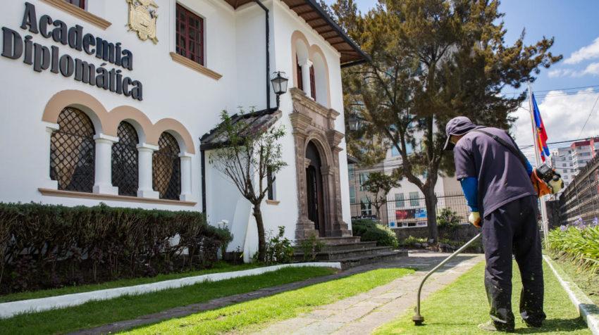 La Academia Diplomática reabrió sus puertas el 29 de noviembre de 2019, en Quito-