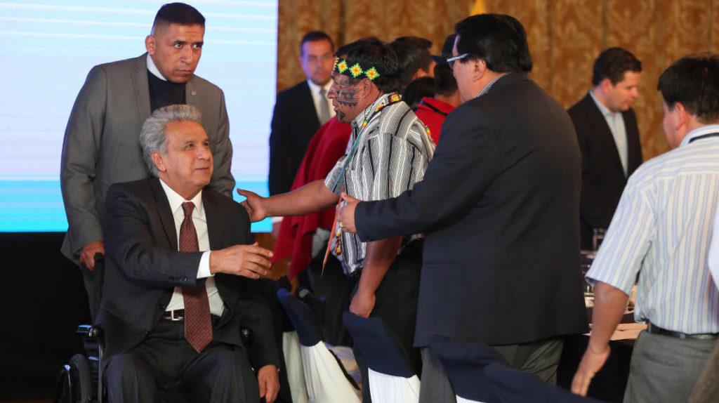 Moreno busca aliados dispersos en los sectores conflictivos