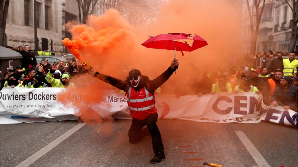 Huelga paraliza el sistema de transporte de Francia