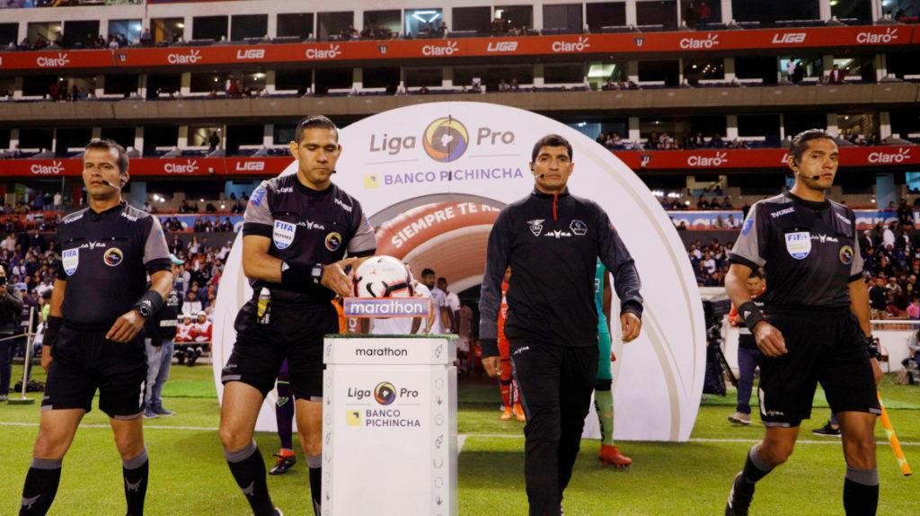 Guerrero y Espinel pitarán las semifinales de vuelta de la LigaPro