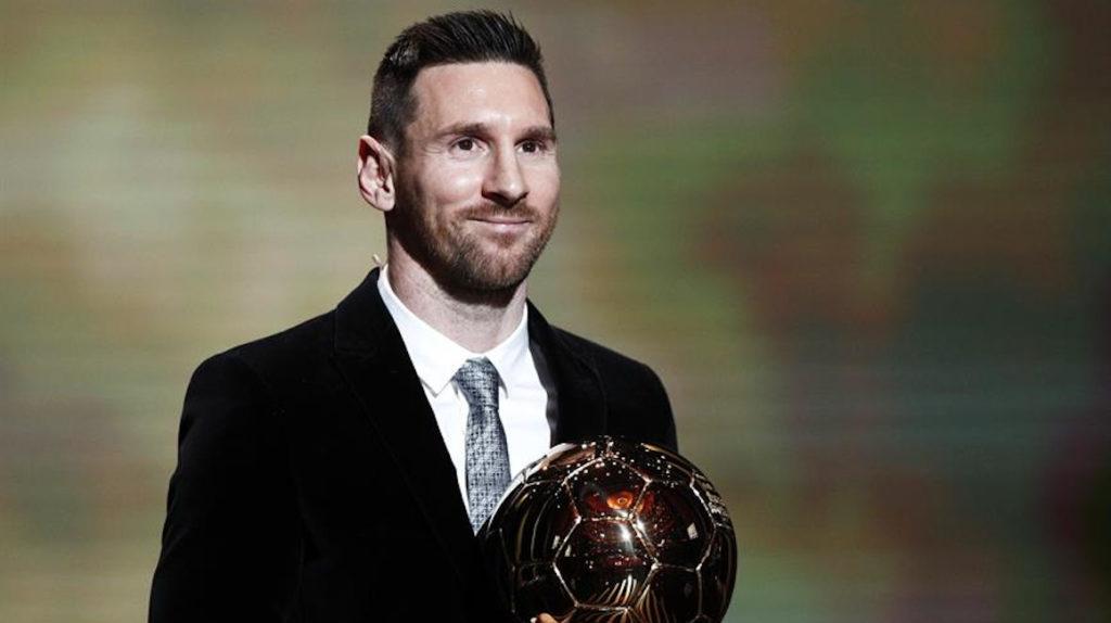 Messi ganó el Balón de Oro por siete puntos