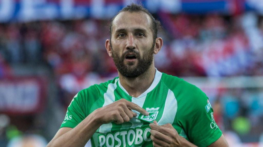 Hernán Barcos no continuará en Atlético Nacional en 2020