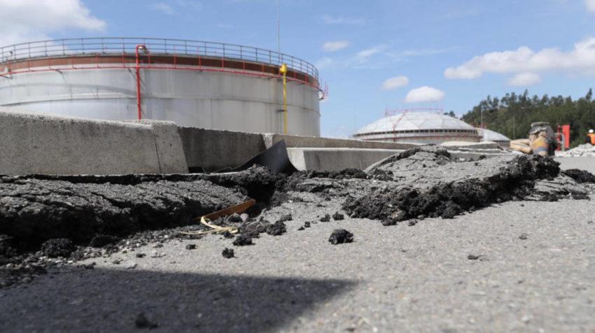 Hay fallas en el terreno, la terminal fue construida sobre una quebrada, dice Petroecuador.
