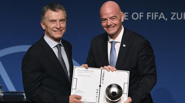 Macri Fundación FIFA