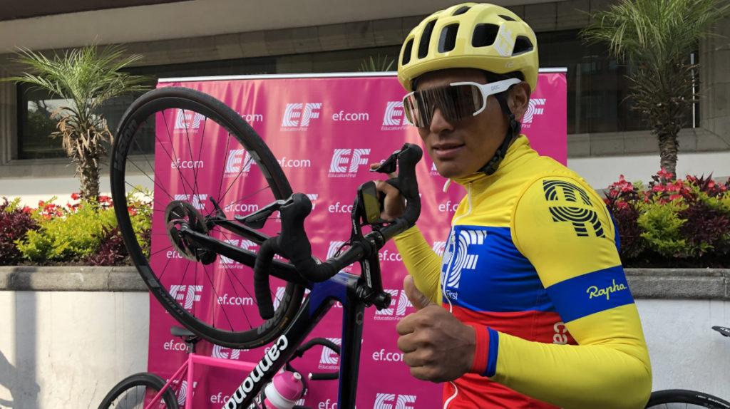 La Vuelta a España es el objetivo de Jonathan Caicedo