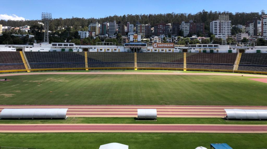 El estadio Atahualpa dejará de ser la casa de la Selección