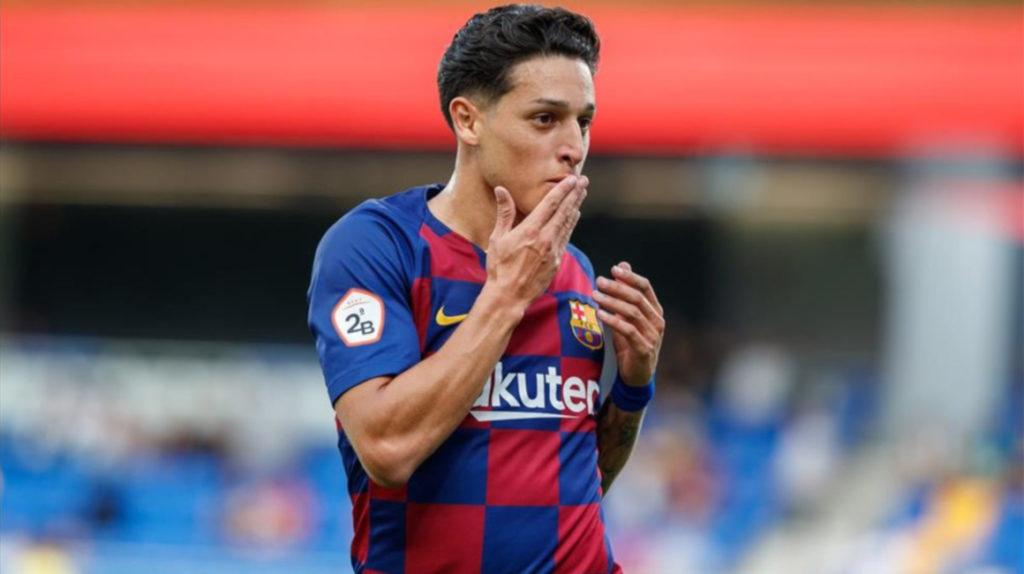 Saverio arrancará como suplente en el partido frente a Sevilla