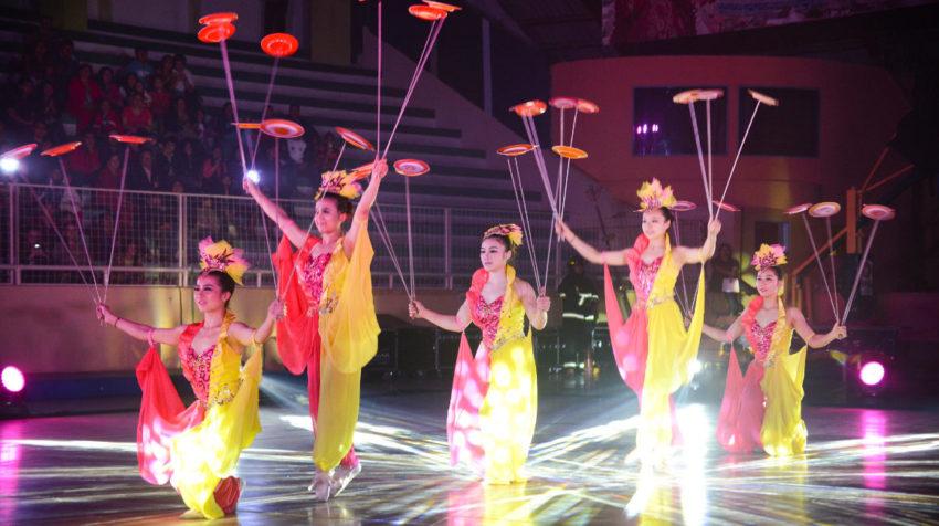 28 de marzo de 2013, presentación del Circo Social en Loja.