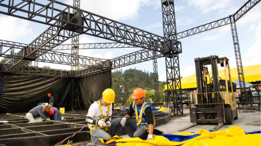 14 de marzo de 2013, el vicepresidente Lenín Moreno visitó las instalaciones del Circo Social en Cuenca.