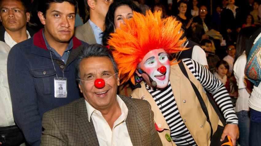 22 de marzo de 2013, el vicepresidente Lenín Moreno inauguró el Circo Social en Cuenca.