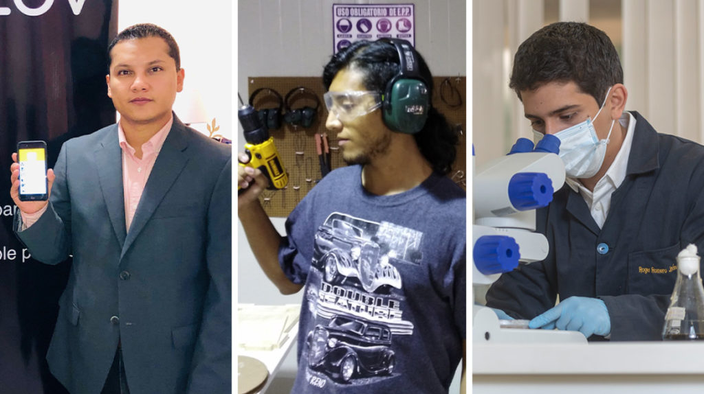 Tres ecuatorianos entre los jóvenes innovadores de la revista de MIT