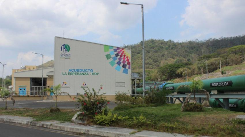 Acueducto La Esperanza, Refinería del Pacífico.