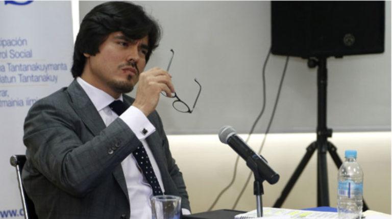 José de la Gasca fue nombrado como Secretario Anticorrupción este 17 de enero de 2020.