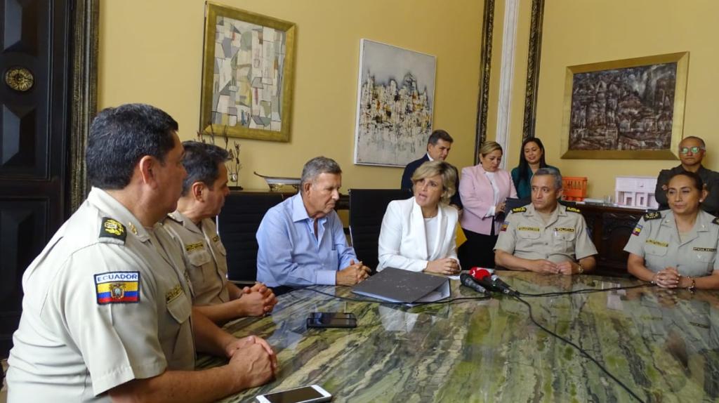 Nuevo mando policial lima asperezas con el Municipio de Guayaquil