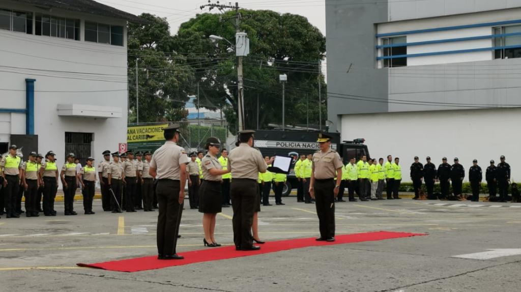 500 policías ecuatorianos se formarán en Estados Unidos