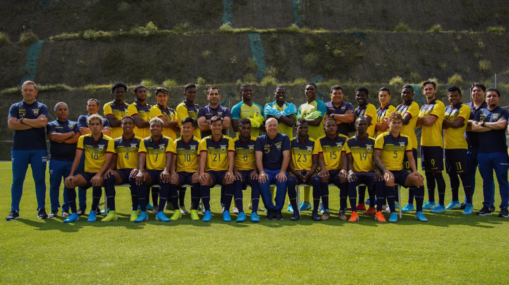 La Selección de Ecuador estrenará camiseta en las eliminatorias de Catar