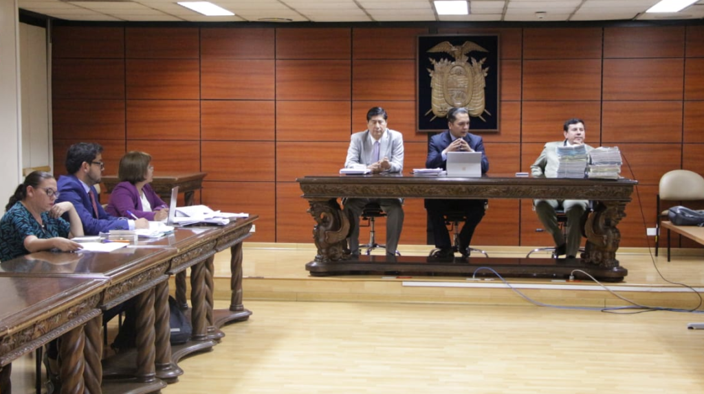 Corte Nacional ratifica sentencia contra exgerente de Petroecuador
