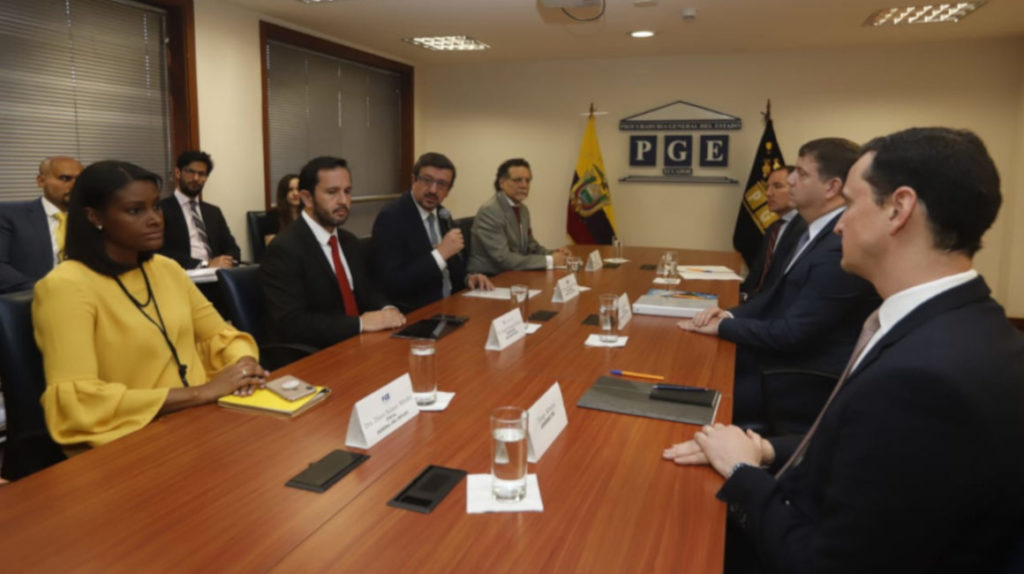 La reparación integral de Odebrecht a Ecuador se negociará con tres ejes