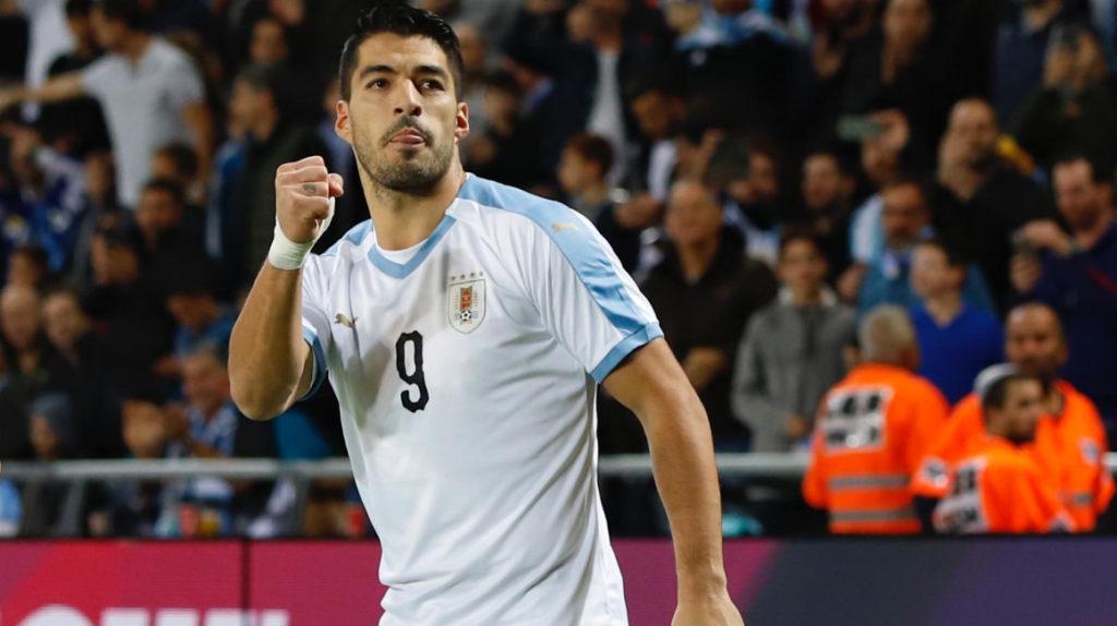 Luis Suárez, la primera baja de Uruguay ante Ecuador