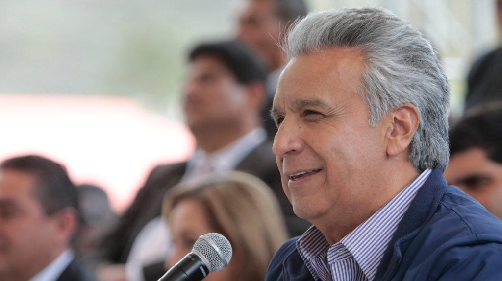 El presidente Lenín Moreno participará en el Foro de Davos