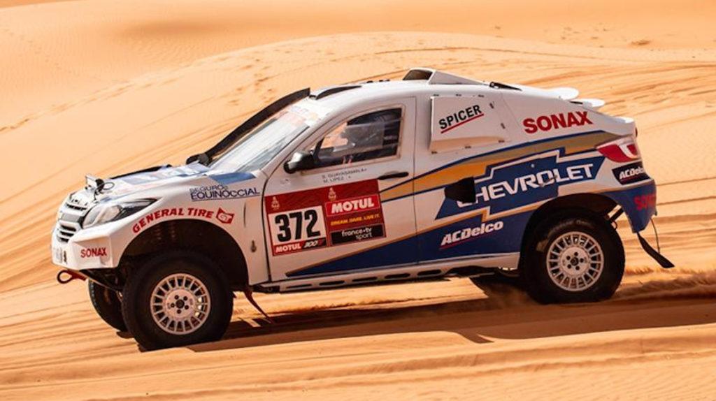 Sebastián Guayasamín sube tres puestos en una trágica etapa del Dakar
