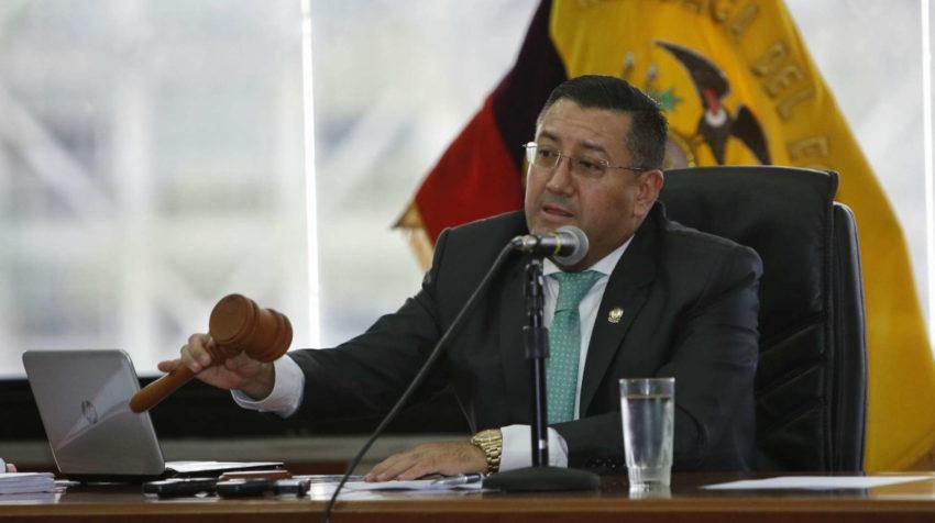 Iván Saquicela tiene la mayor parte de su experiencia como Fiscal.
