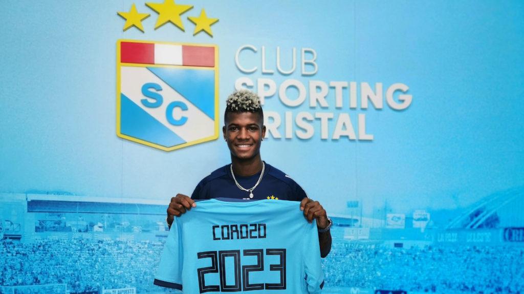 """Washington Corozo: """"Estoy enamorado de Sporting Cristal"""""""