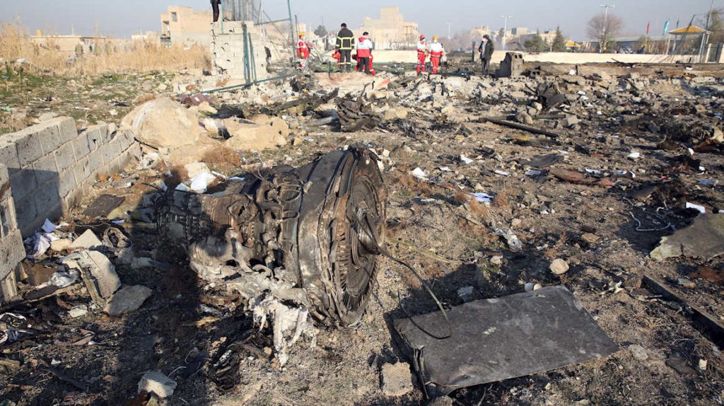 Canadá dice que avión ucraniano fue derribado por misil iraní