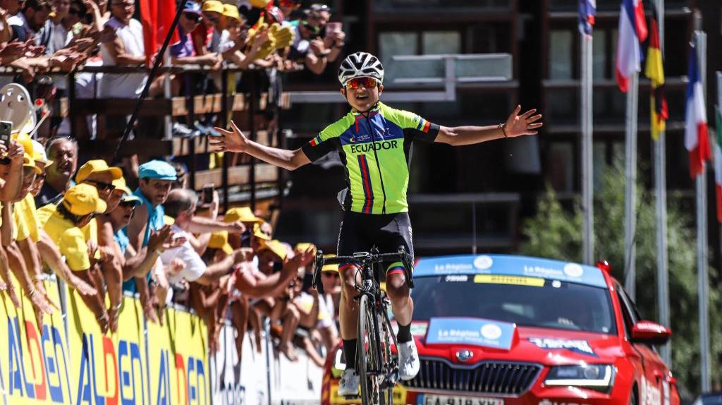 Alexander Cepeda, una de las figuras en la Vuelta al Táchira