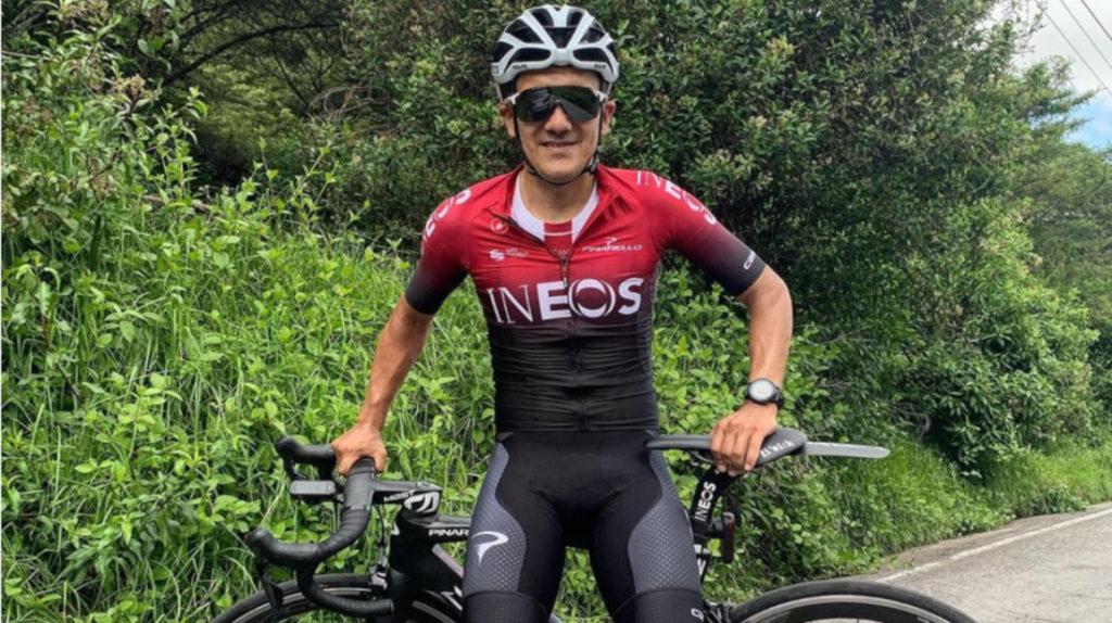 Richard Carapaz estrenará la camiseta del Team Ineos en el Tour Colombia 2.1