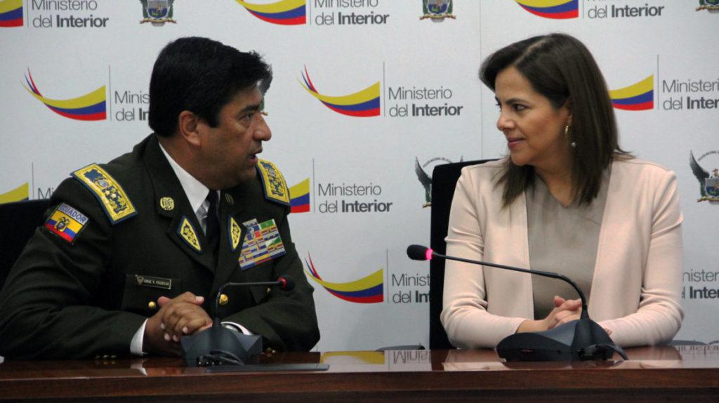Renunció el comandante general de la Policía Nacional