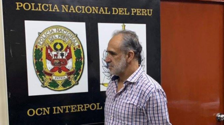Archivo. En abril de 2019, Ramiro González fue detenido en Lima, Perú.