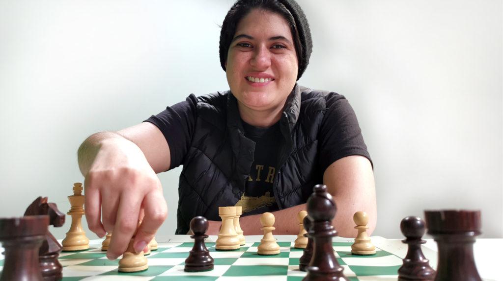 Carla Heredia obtiene su cupo para el equipo olímpico de ajedrez online