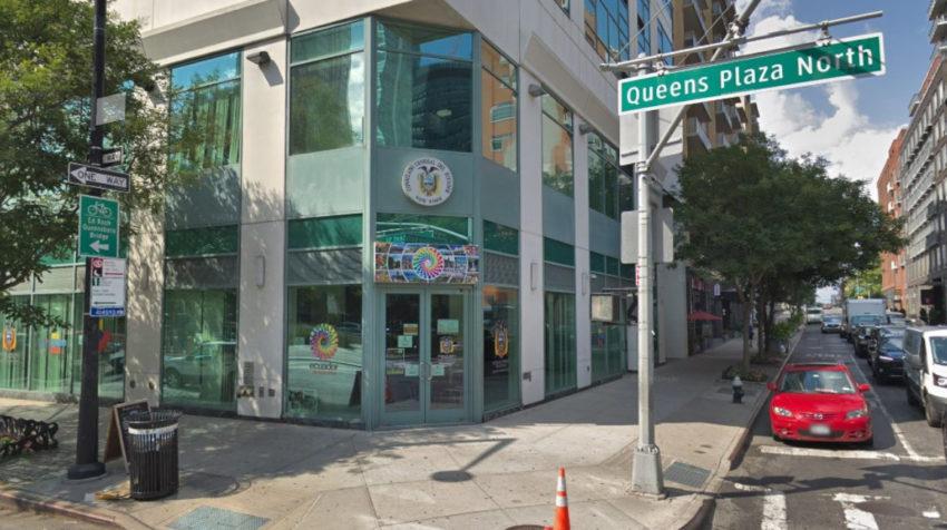 El consulado ecuatoriano en Queens, Nueva York, tiene el arriendo más caro de las sedes diplomáticas del país.