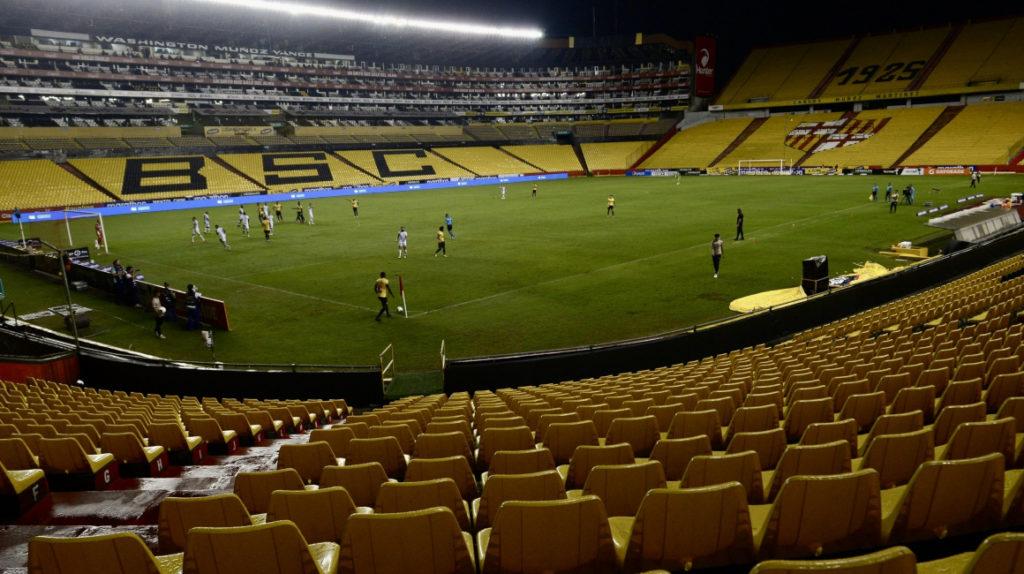 Se suspende la Liga Profesional de fútbol en Ecuador