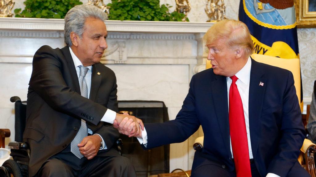 Ecuador va ganando en la relación con Estados Unidos
