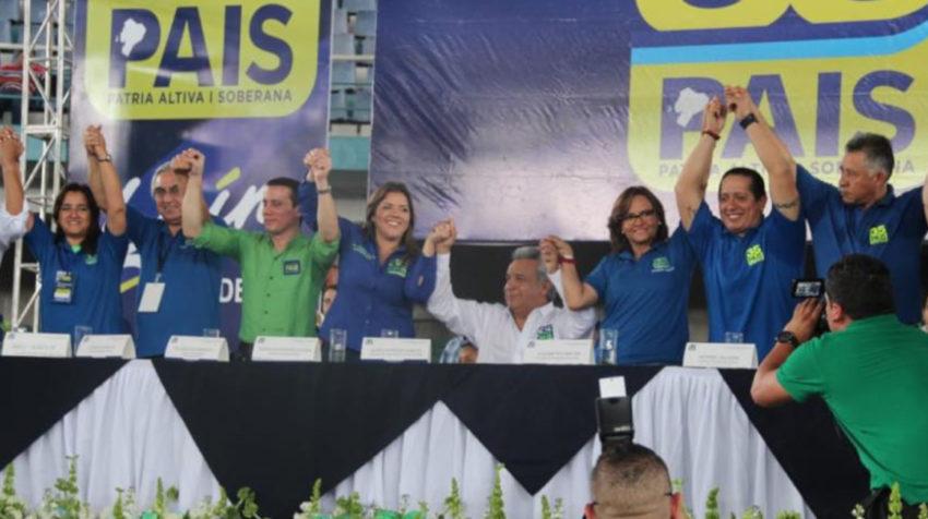 La última convención de Alianza PAIS se realizó el 4 de agosto de 2018, en Guayaquil.