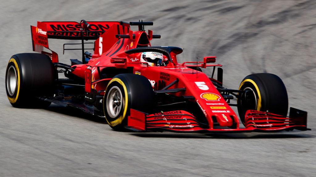 Sebastian Vettel registró el mejor tiempo, previo al primer circuito del año